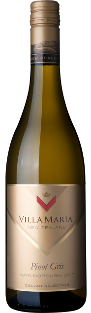 VillaMaria CellarSelection Marlborough PinotGris 2017