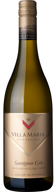 VillaMaria CellarSelection Marlborough SauvignonGris 2015