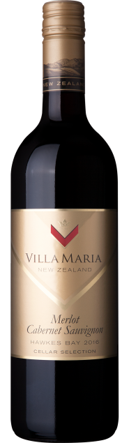 VillaMaria CellarSelection HawkesBay MerlotCabSauv 2016
