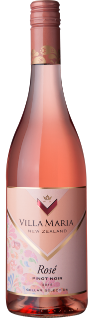 VillaMaria CellarSelection Rose PinotNoir 2018
