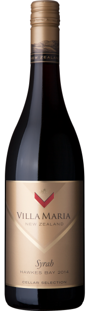 VillaMaria CellarSelection HawkesBay Syrah 2014