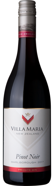 VillaMaria PrivateBin Marlborough PinotNoir 2017