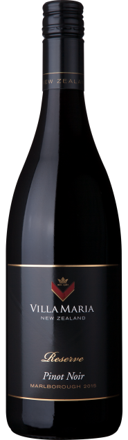 VillaMaria Reserve Marlborough PinotNoir 2015