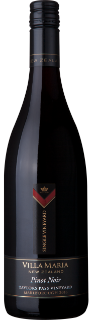 VillaMaria SingleVineyard Marlborough TaylorsPass PinotNoir 2016