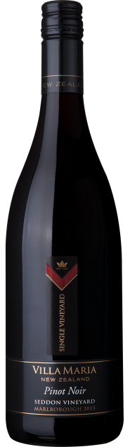 VillaMaria SingleVineyard Marlborough Seddon PinotNoir 2013